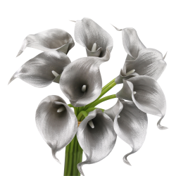 10-stem of Real touch Calla...